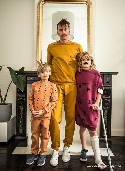 Chat Chocolat - Mackerels THE ESSENTIALS - sweater