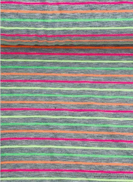 multi stripes neon - tricot