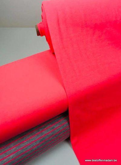 neon pink - ribbing