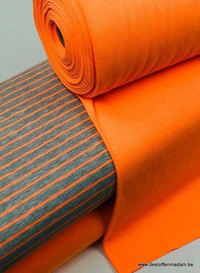 neon oranje - tricot