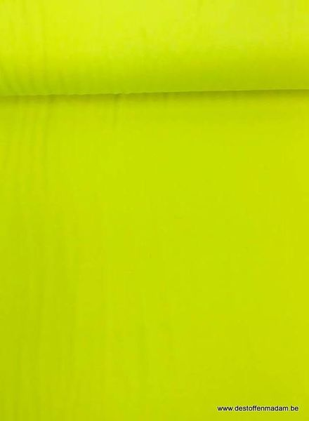 neon geel - tricot