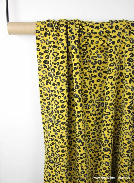oker luipaard print - tricot S