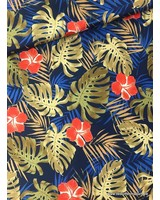 golden leaves - water-repellent fabric
