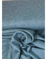 turqoise viscose sweater - double knitted - extreme soft
