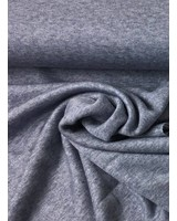 navy blue viscose sweater - double knitted - extreme soft
