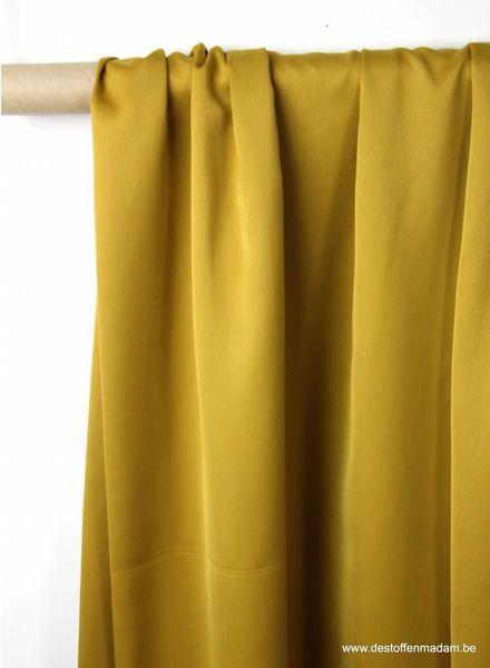 ochre - satin - Julia dress S