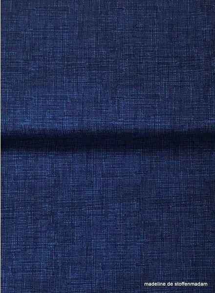 Timeless Treasures Fabrics sketch marineblauw - katoen