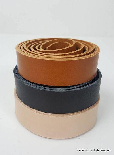 cognac leather handles - different sizes