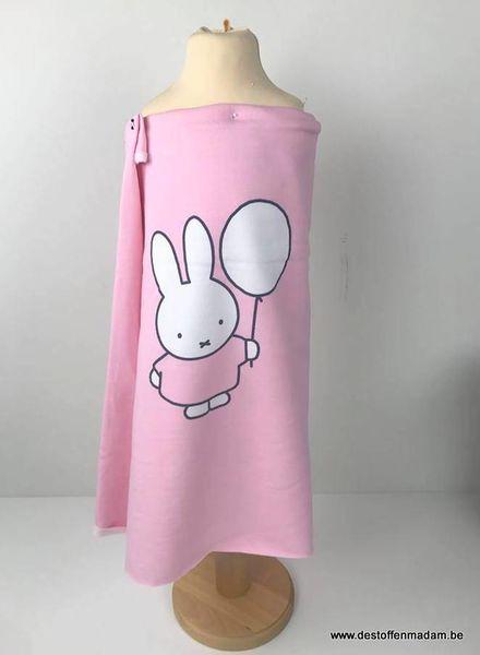 Nijntje roze - paneel sweater