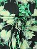 green flowers digital print - viscose jersey