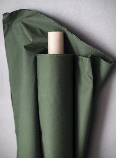 Fern green dry oilskin