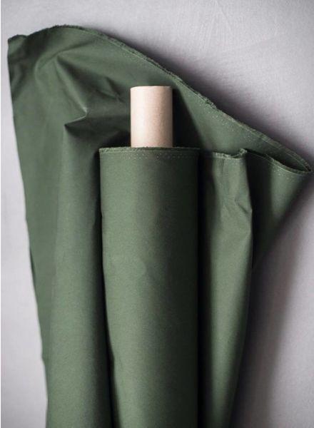 Merchant & Mills Fern green dry oilskin