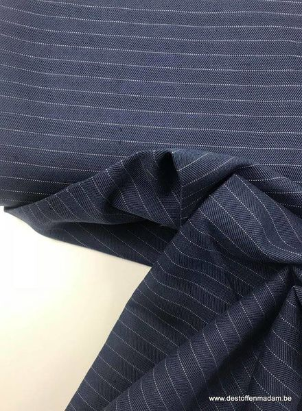 Italian linen fabric - stripes