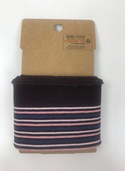 cuff stripes - burgundy