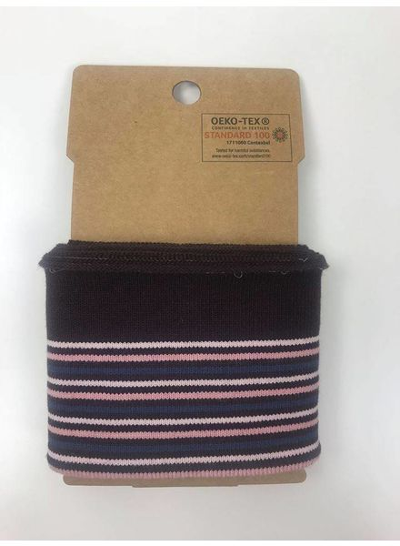 cuff stripes - burgundy