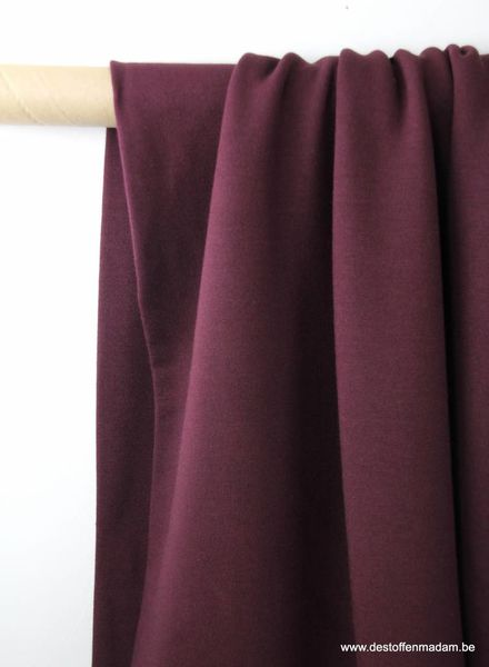 burgundy modal - french terry S