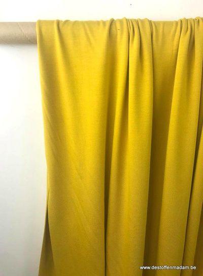 oker modal tricot - topkwaliteit S