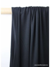zwarte modal tricot - topkwaliteit