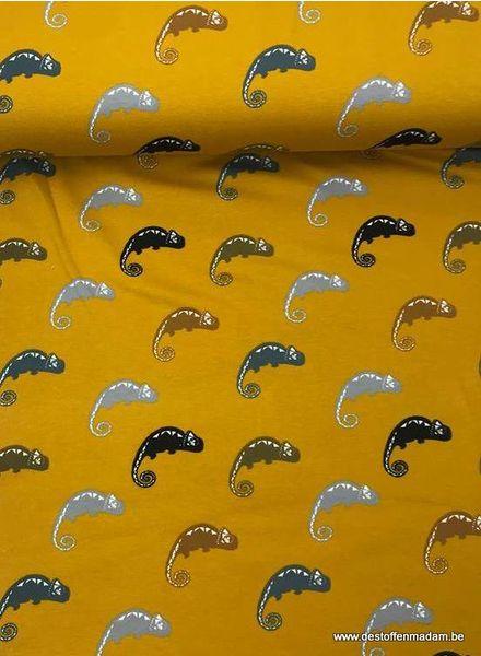 kameleon oker -  tricot
