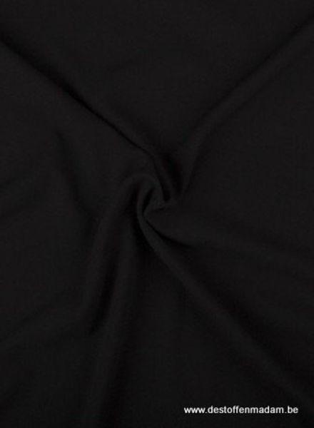 zwart - crêpe elasthan