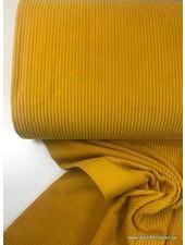 oker - corduroy - ribfluweel met brede ribbel
