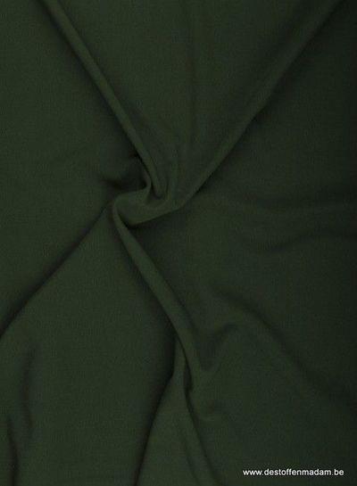 donkergroen - crepe