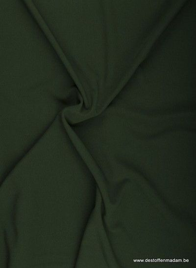 donkergroen - winter crepe