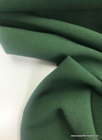 donkergroen - crepe elasthan