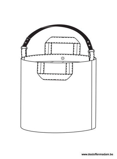 Merchant & Mills Jack tar bucket bag - Merchant and Mills