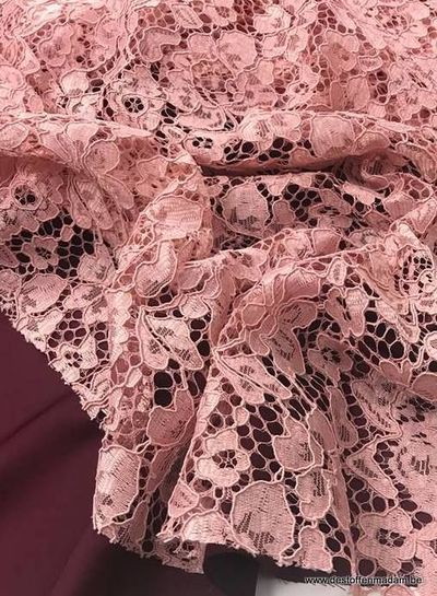 old pink - lace