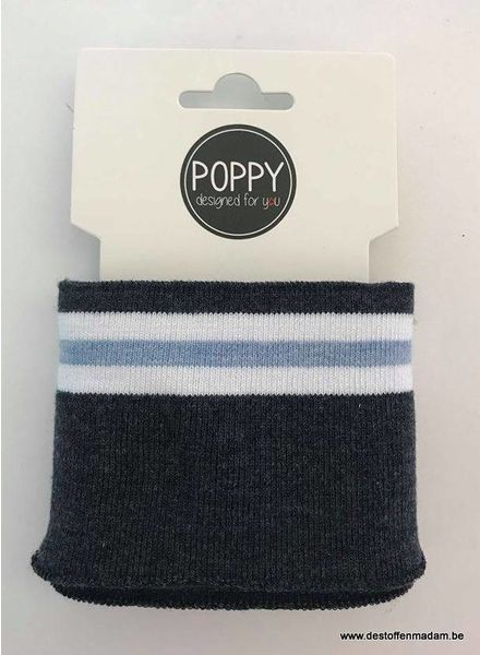 cuff denim/light blue - Poppy designed for you