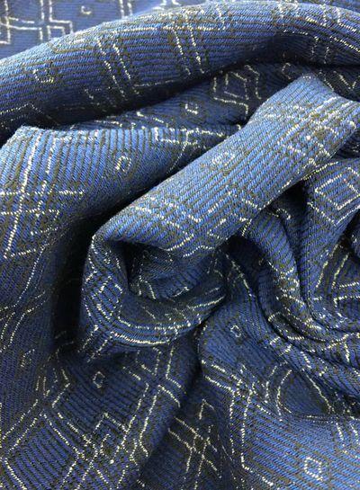 geweven jacquard - Terre Bleue