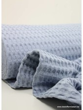 baby blue waffle cotton XL