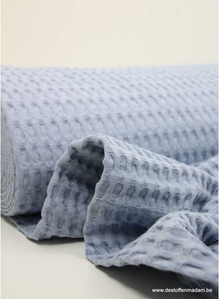 baby blue -  waffle cotton XL