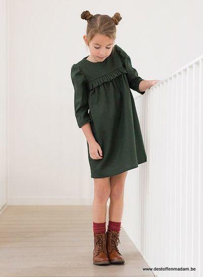 Cotton Gabardine Twill - Duffel Green