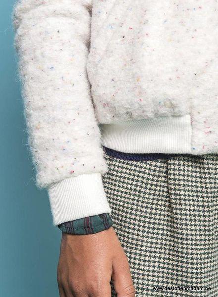 LMV speckled woollen fabric - Sallie coat