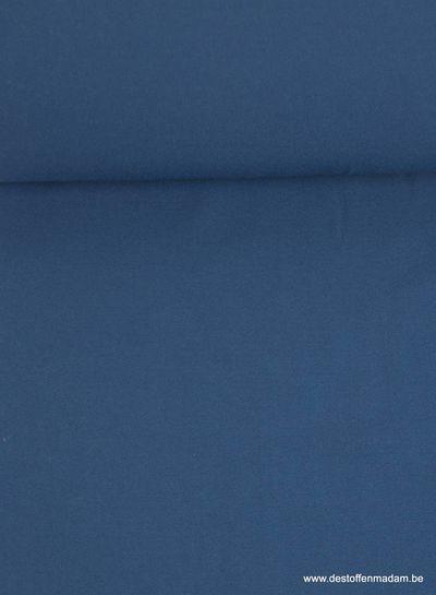 kobaltblauw - crepe elasthan - Ruby Jurk