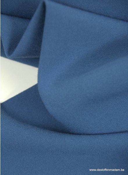 royal blue - crêpe elasthan - Ruby Jurk