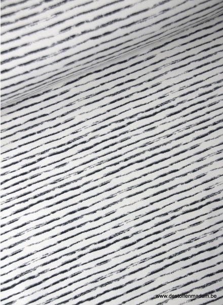 blurry stripes - sweater