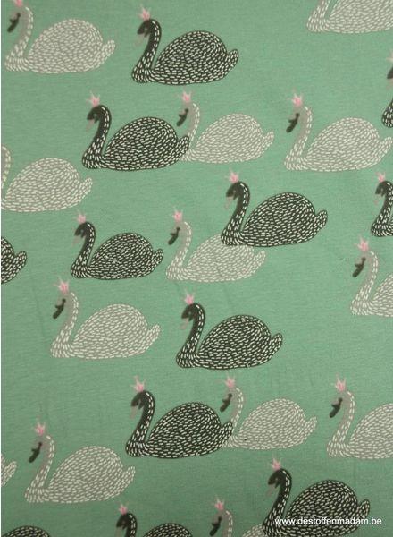 zwaantjes groen - tricot