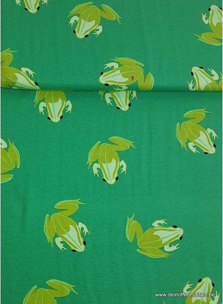 gras green frogs - jersey