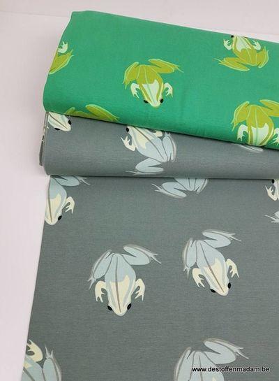 grasgroen kikkers - tricot