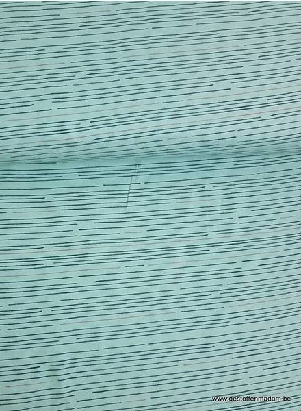 stripes mint - jersey