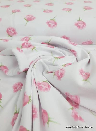 flavoured roses white - jersey