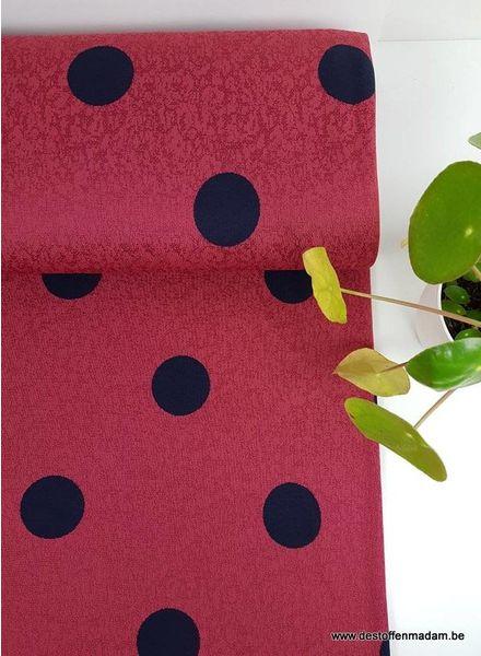 marsala beauty - stretch viscose fabric