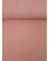 salmon pink - textured knit fabric