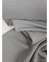 grey - textured knit fabric