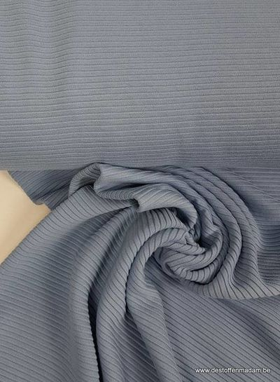 baby blue - textured knit fabric