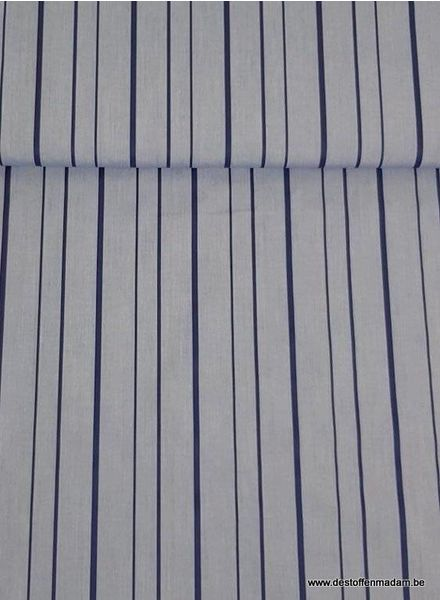 denim stripes - cotton