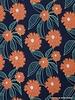 frisse lente bloemen - viscose